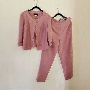 Vintage John Roberts pink two piece set